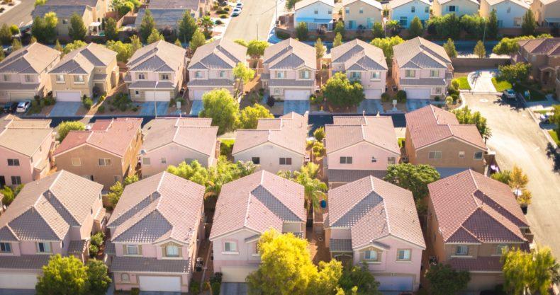 アメリカの住宅地のイメージ
